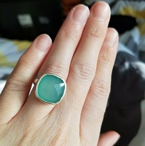 Jewelry - Sterling silver chalcedony ring